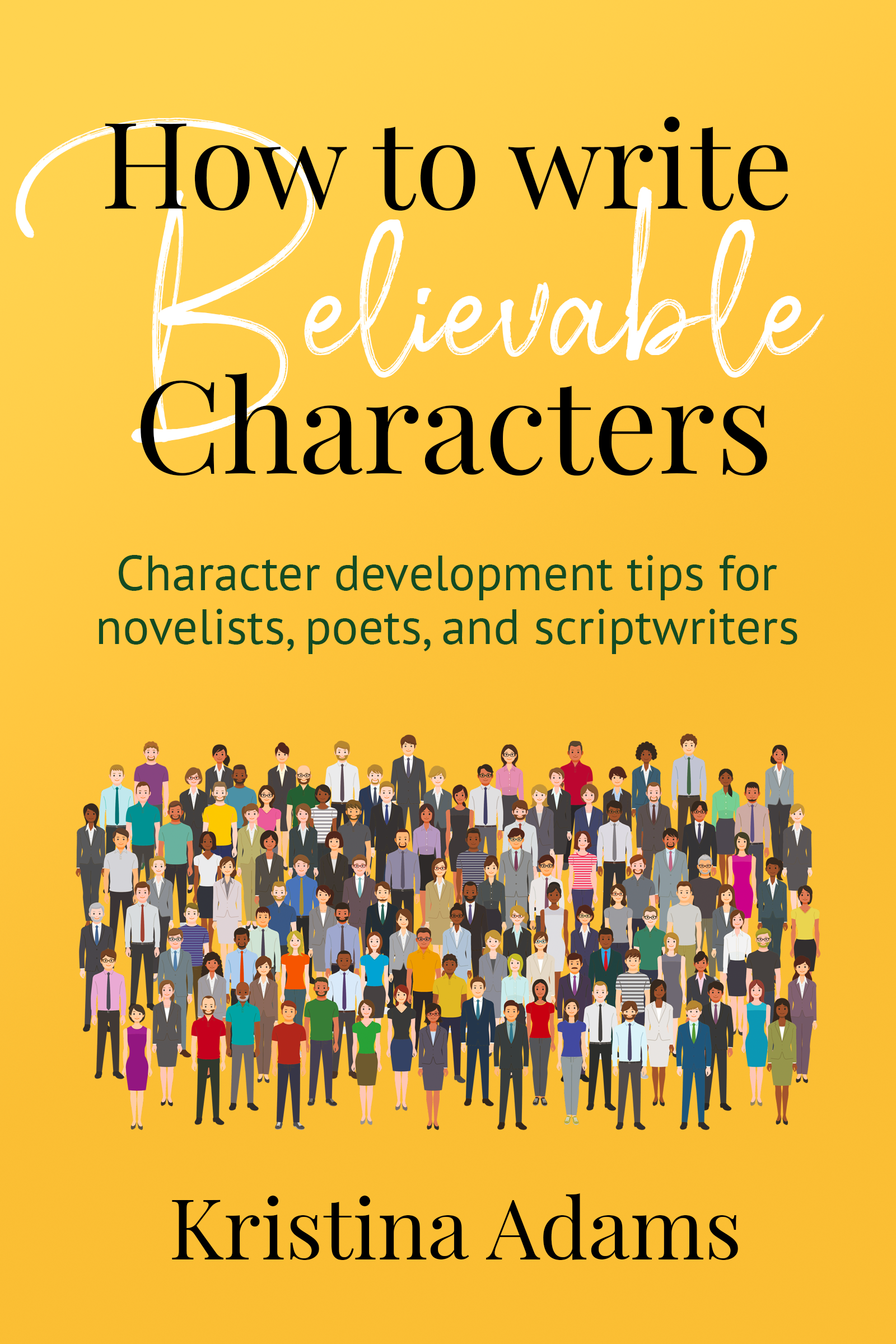 How to write believable characters cover