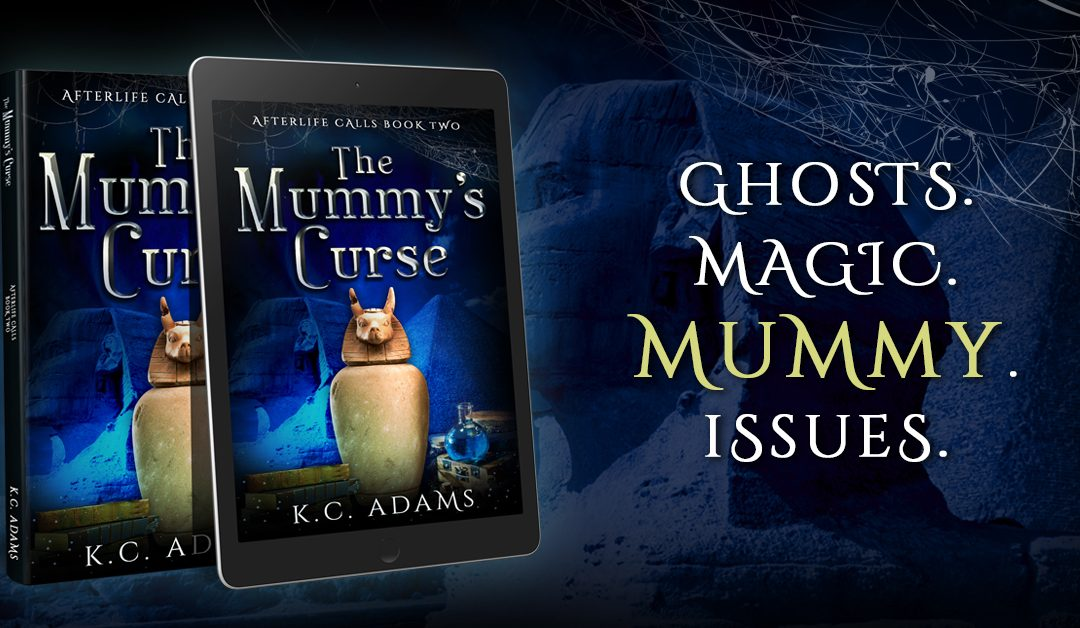 The Mummy's Curse is out on 28 September!